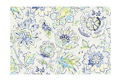 Ceylon Gardens II Indigo-Wild Apple Portfolio-Art Print