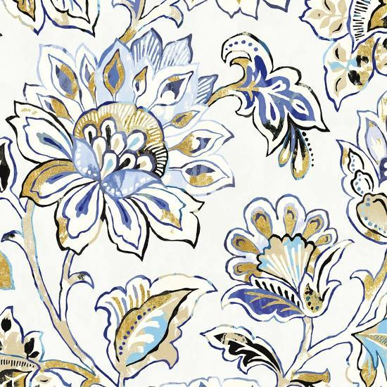 Ceylon Gardens III Black and Gold-Wild Apple Portfolio-Art Print