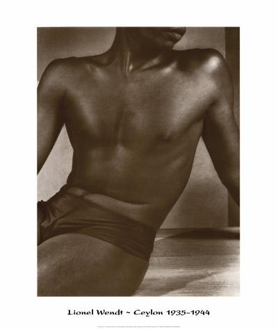 Ceylon, Male Torso-Lionel Wendt-Art Print