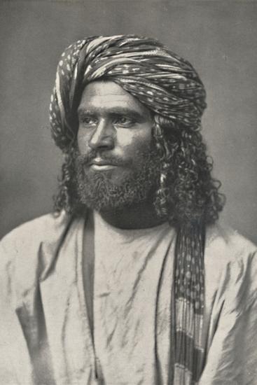 'Ceylonesischer Muhammedaner', 1926-Unknown-Photographic Print
