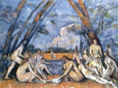 Cezanne: Baigneuses, 1905-Paul C?zanne-Giclee Print
