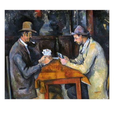Cezanne: Card Player, C1892-Paul C?zanne-Giclee Print