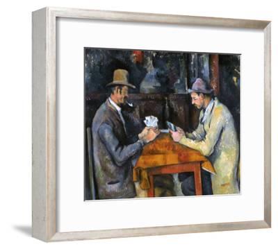 Cezanne: Card Player, C1892-Paul C?zanne-Framed Giclee Print
