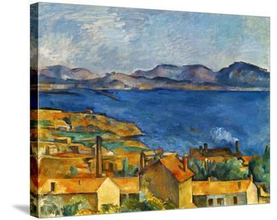 Cezanne:Marseilles,1886-90-Paul C?zanne-Stretched Canvas Print