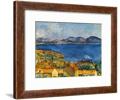 Cezanne:Marseilles,1886-90-Paul Cézanne-Framed Premium Giclee Print