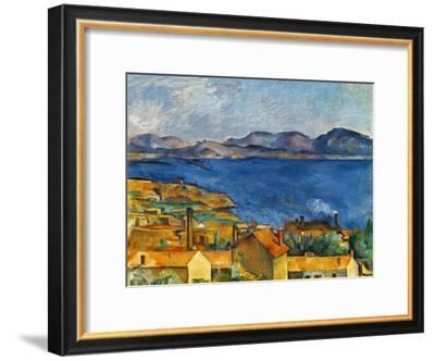 Cezanne:Marseilles,1886-90-Paul Cézanne-Framed Giclee Print