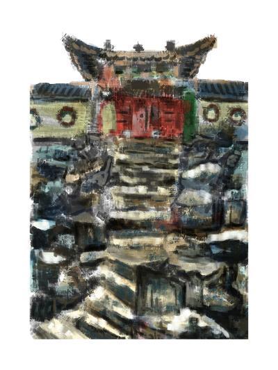 Cg Painting the Summer Palace-jim80-Art Print