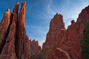 Rocky Outcrop in Garden of the Gods by CGJ Photography
