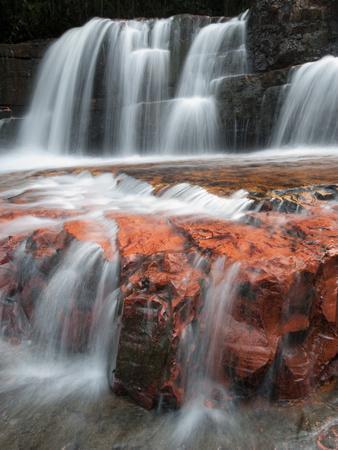 Jasper Falls, Canaima National Park, Venezuela