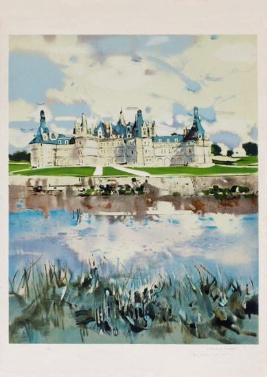 Cha?teau de Chambord-Michel Rodde-Collectable Print