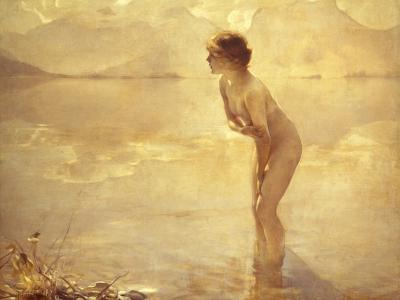 Chabas: September Morn-Paul Chabas-Giclee Print