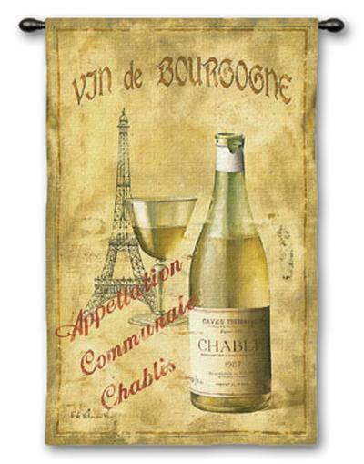 Chablis '27-Fabrice De Villeneuve-Wall Tapestry