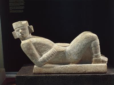 Chac-Mool Statue Relic from Chichen Itza, Mexico--Giclee Print