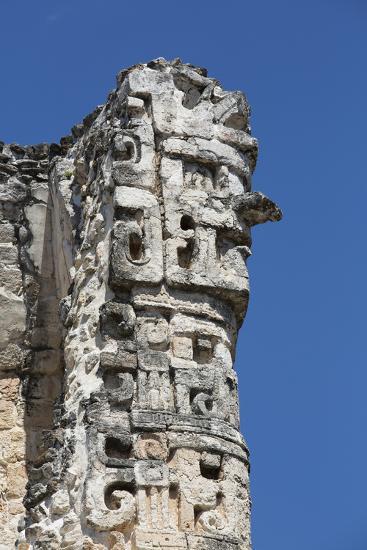 Chac Rain God, Dzibilnocac (Painted Vault) Temple, Dzibilnocac-Richard Maschmeyer-Photographic Print