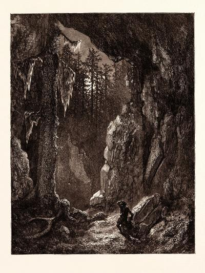 Chactas Seeking for the Graves of Father Aubry and Atala-Gustave Dore-Giclee Print
