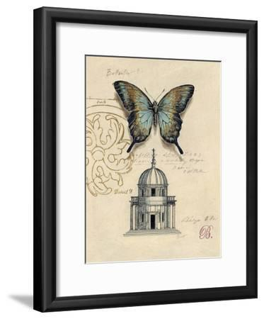 Butterfly Etching