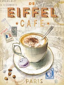 Eiffel Tower Café by Chad Barrett