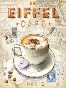 Eiffel Tower Café by Chad Barrett
