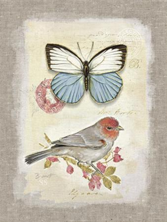 Red Natural Life, Butterfly and Little Bird