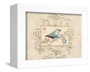 Songbird Etching 1 by Chad Barrett