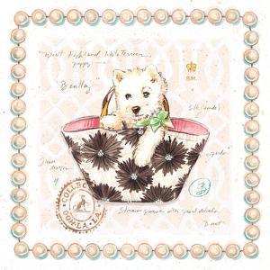 Westie Puppy Purse by Chad Barrett
