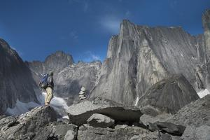 Alpinist in the Cirque of the Unclimbables by Chad Copeland
