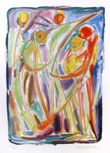 Dancers by Chaim Goldberg