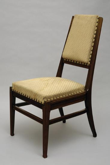Chair, Circa 1920-Giacomo Cometti-Giclee Print