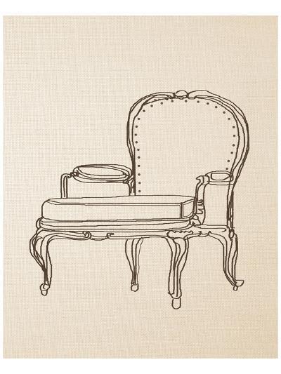 Chair Design I-Irena Orlov-Art Print