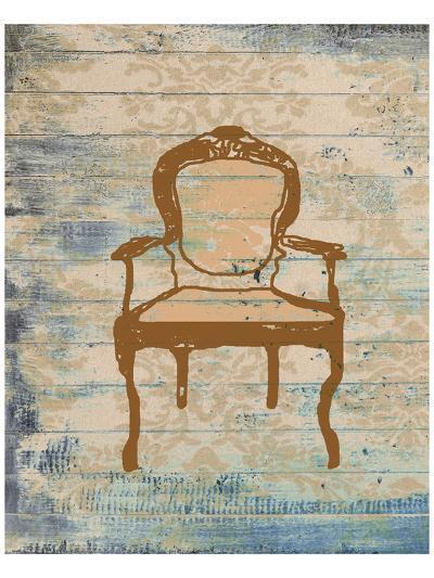 Chair VI-Irena Orlov-Art Print