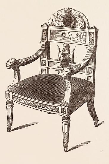 Chair--Giclee Print
