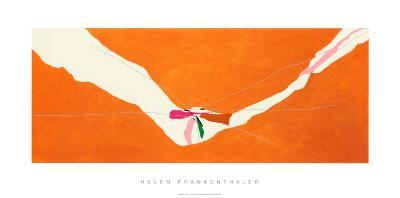 Chairman of the Board, c.1971-Helen Frankenthaler-Serigraph