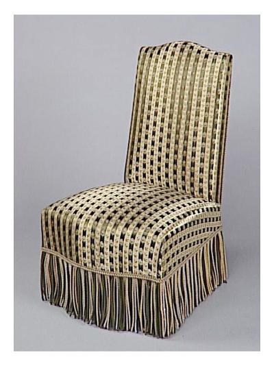 Chauffeuse Napoleon Iii chaise chauffeuse napoléon iii du salon louis xiii, couverte d'un