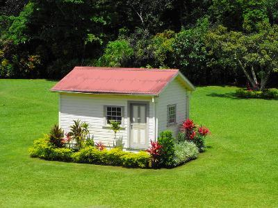 Chalet in the Grounds of Villa Vailima, Apia, Samoa--Photographic Print