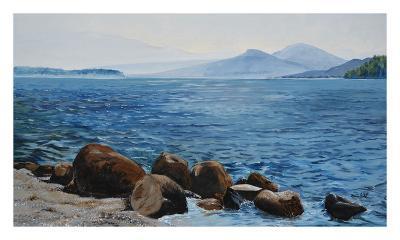 Chaleur humide sur le lac-Sylvia Audet-Art Print