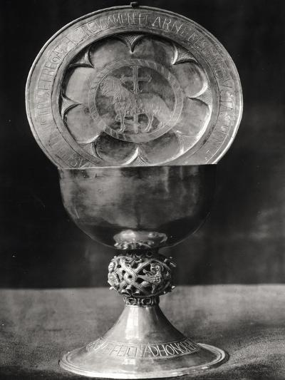 Chalice and Eucharist Plate, Belonging to the Abbot Pelage End 12th Beginning 13th Century--Giclee Print
