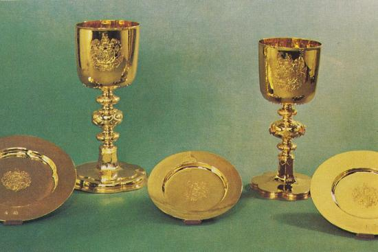 'Chalices and patens', 1953-Unknown-Photographic Print
