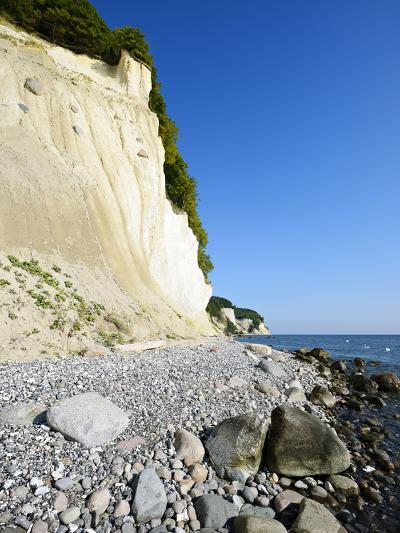 Chalk Rocks, National Park Jasmund, Island RŸgen, Mecklenburg-West Pomerania, Germany-Andreas Vitting-Photographic Print