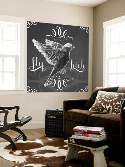 Chalkboard Bird I-June Erica Vess-Wall Mural