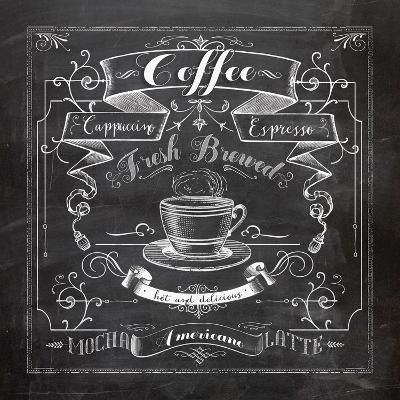 Chalkboard Coffee-Washburn Lynnea-Art Print