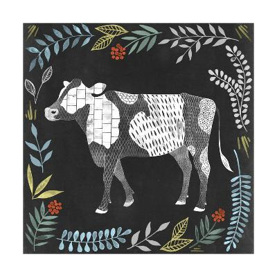 Chalkboard Farmhouse I-Grace Popp-Art Print