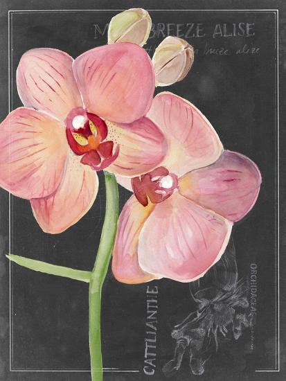 Chalkboard Flower I-Jennifer Parker-Art Print