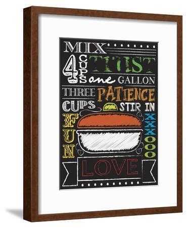 Chalkboard Kitchen Art 4-Melody Hogan-Framed Art Print