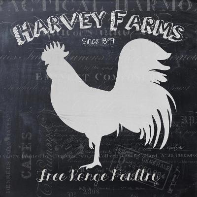 Chalkboard Poultry-Stimson, Diane Stimson-Art Print