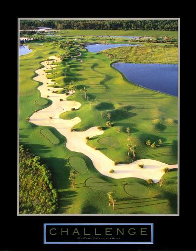 Challenge: Golf II--Art Print