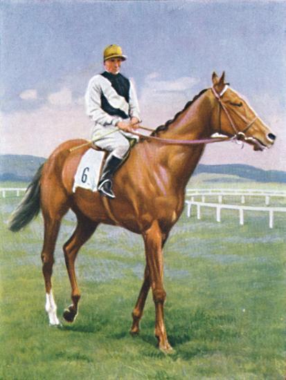 Challenge, Jockey: E. Smith', 1939-Unknown-Giclee Print