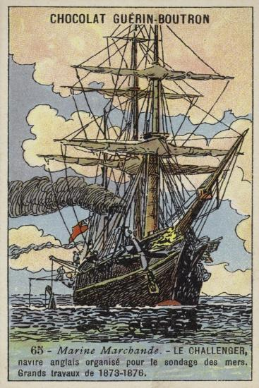 Challenger, British Ship Equipped to Undertake an Oceanographic Survey Expedition, 1873-1876--Giclee Print