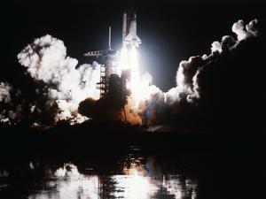 Challenger Liftoff 1983