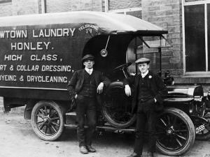 Laundry Van by Chaloner Woods
