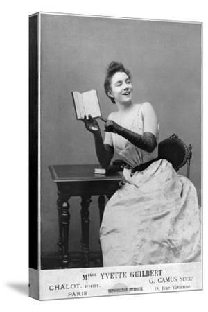 Yvette Guilbert (1867-1944) 1891